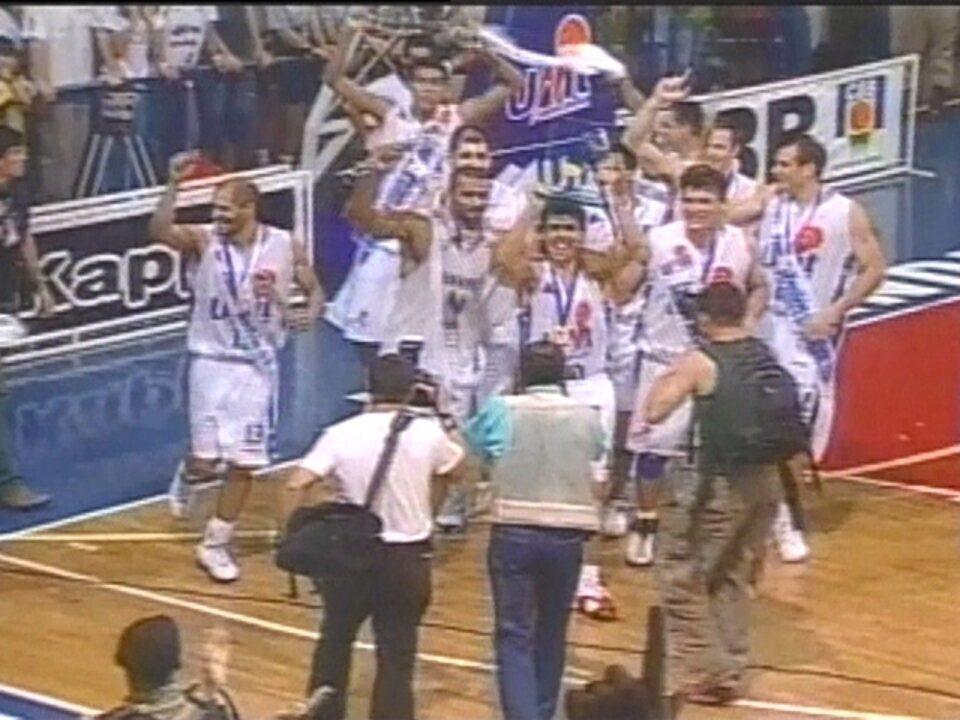 Em 2004, Uberlândia vence o Flamengo e é campeão brasileiro de basquete