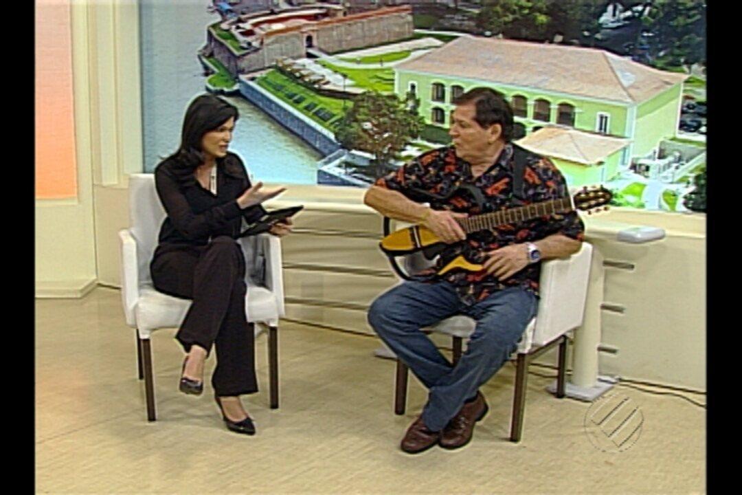 Cantor Jerry Adriani faz show em Belém