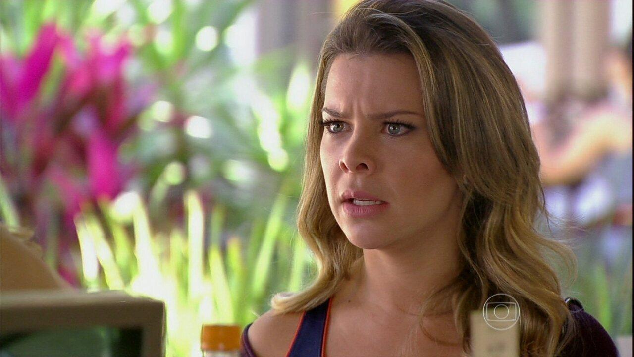 Malhação - Capítulo de quarta-feira, dia 24/07/2013, na íntegra - Bernardete percebe o plano de Sofia contra Anita