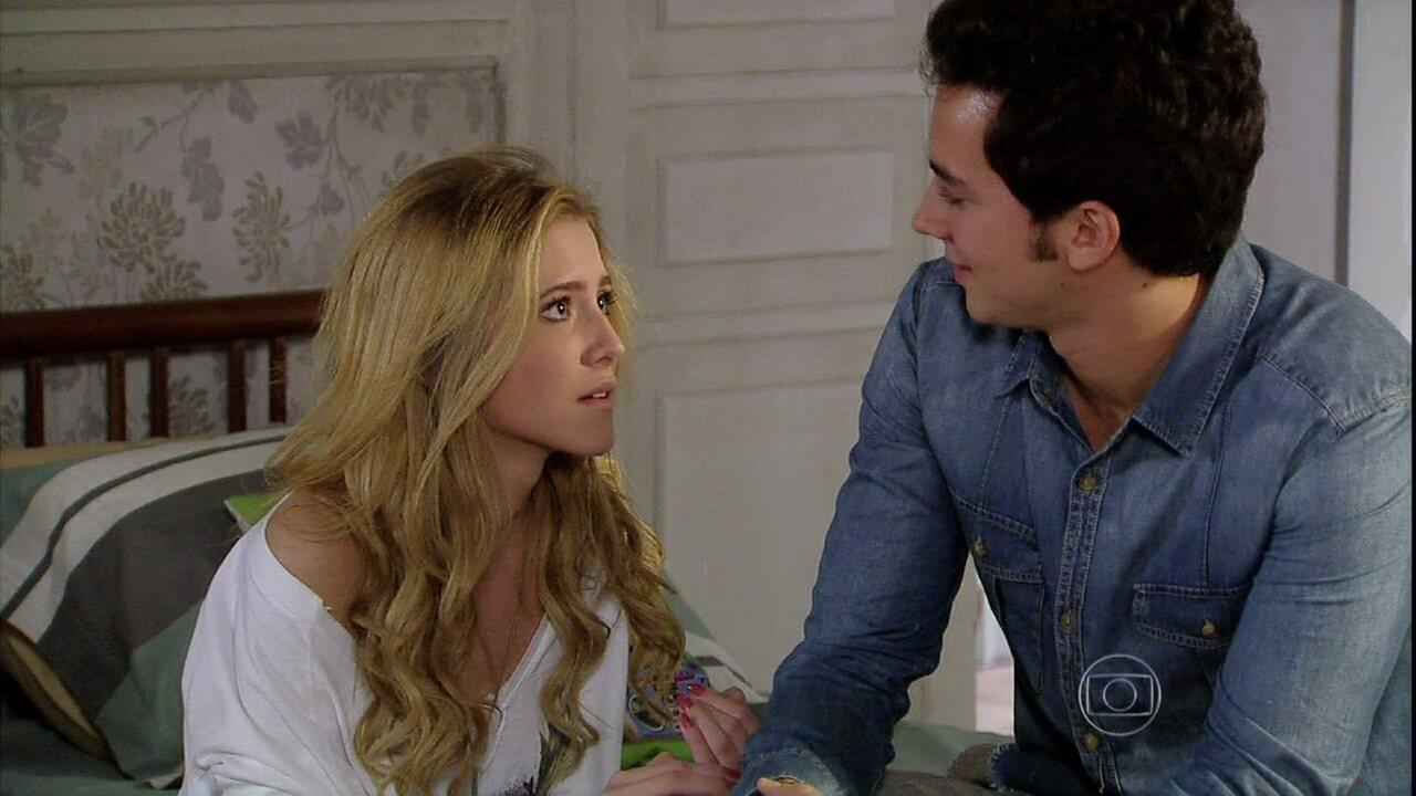 Malhação - Capítulo de segunda-feira, dia 02/09/2013, na íntegra - Sofia confessa para Ben que está apaixonada por ele
