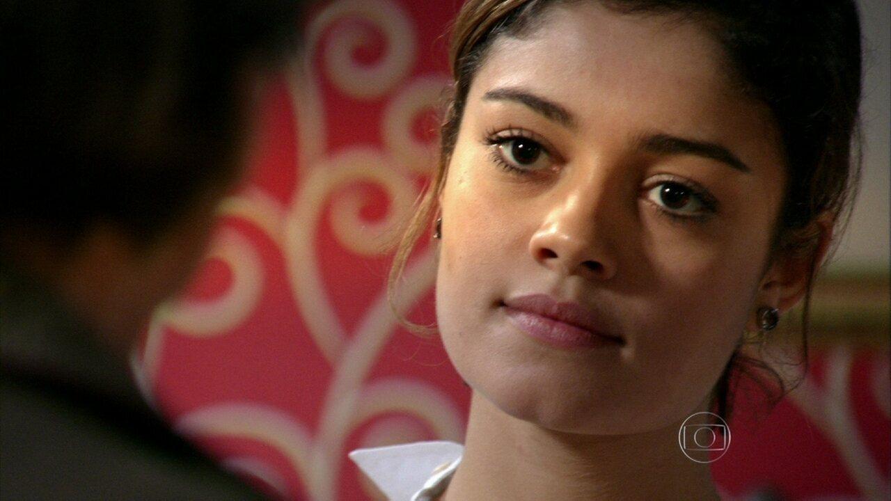 Sangue Bom - capítulo de terça-feira, dia 03/09/2013, na íntegra - Plínio oferece dinheiro para Amora não se casar com Bento