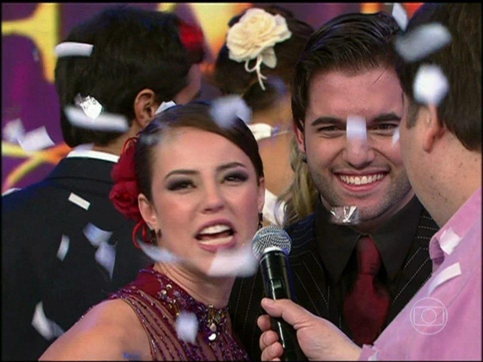 Campeã! Relembre Paolla Oliveira no 'Dança dos Famosos'