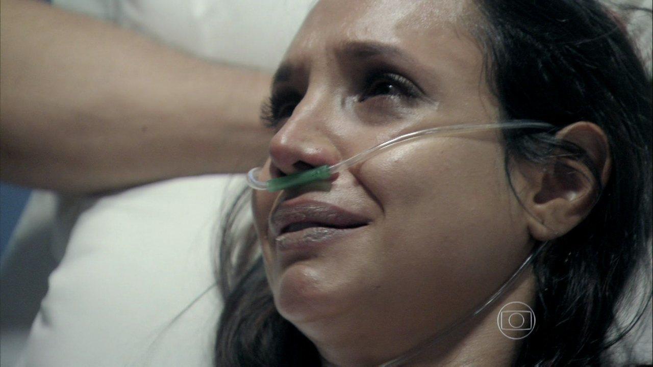 Amor à Vida - Capítulo de sábado, dia 14/09/2013, na íntegra - Alejandra confessa que armou o flagrante de Paloma no aeroporto