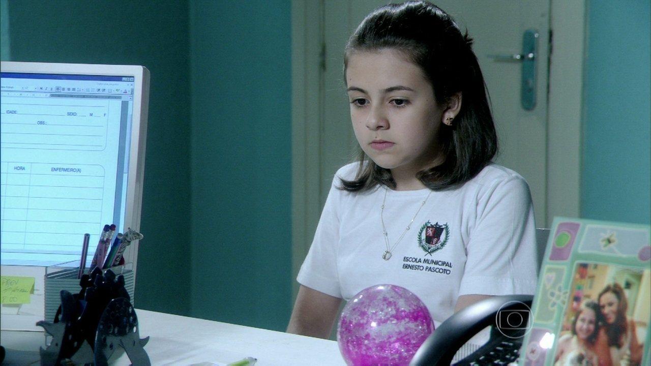 Amor à Vida - capítulo de sábado, dia 12/10/2013, na íntegra - Paulinha conta para Paloma que tem se encontrado com Ninho