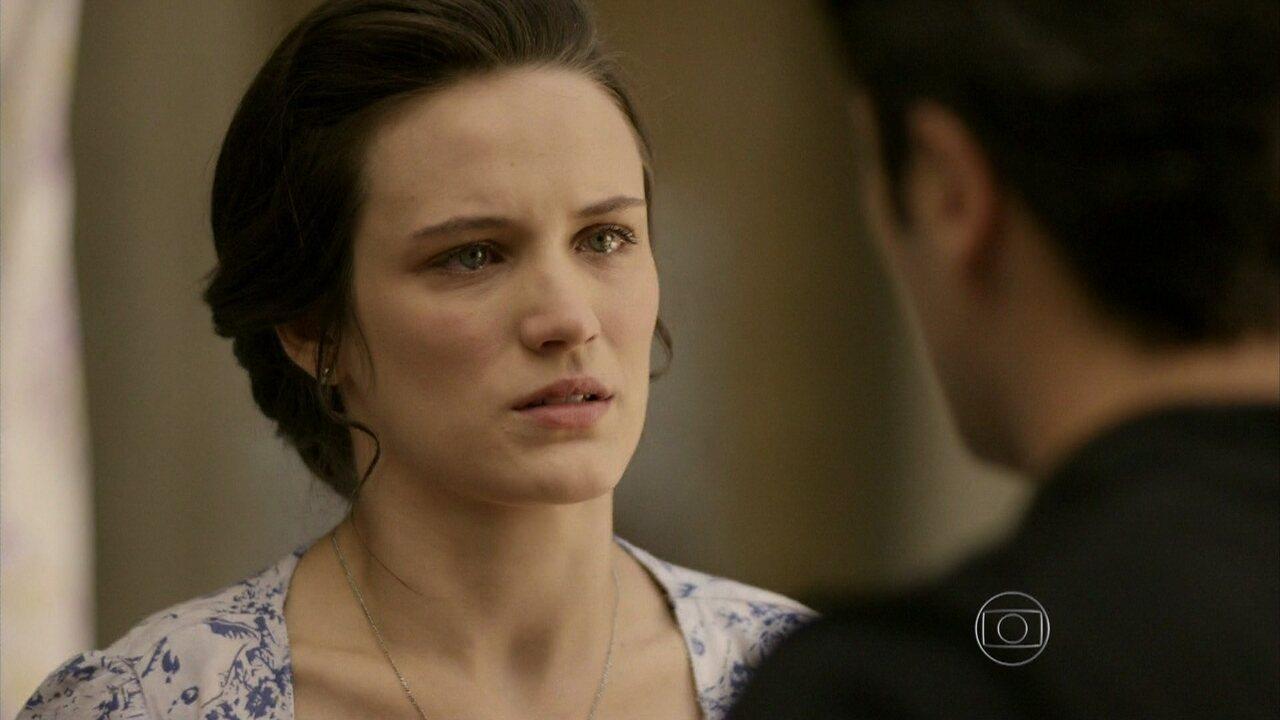 Joia Rara - capítulo de terça-feira, dia 12/11/2013, na íntegra - Amélia diz a Franz que não o ama mais