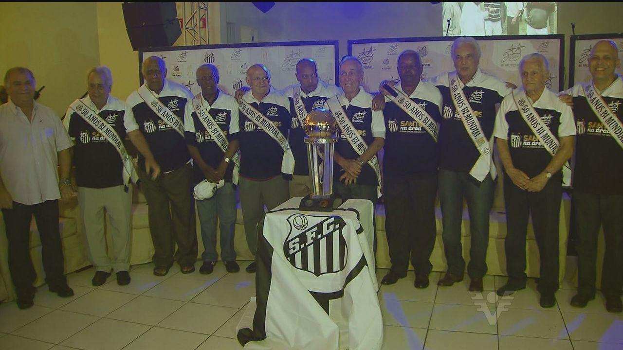 Santos comemora 50 anos da conquista do bicampeonato mundial em 1963