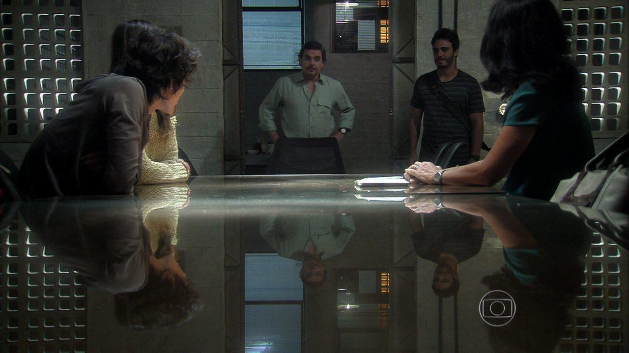 Além do Horizonte - capítulo de sábado, dia 14/12/2013, na íntegra - Líder Jorge anuncia que William vai fazer a Jornada