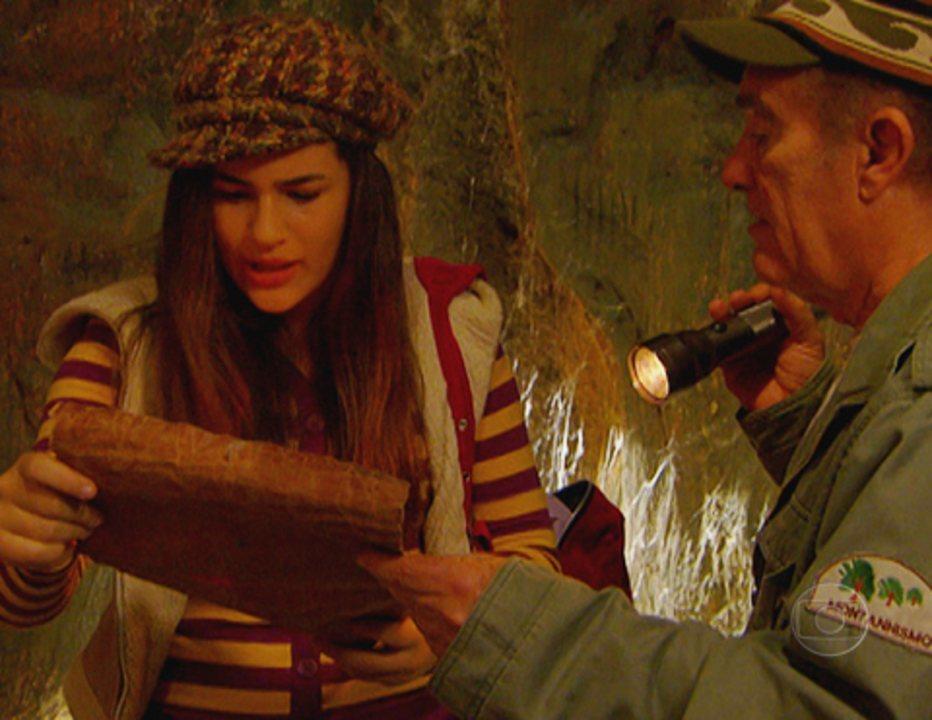 Acampamento de Férias II: Didi e Lili encontram a carta