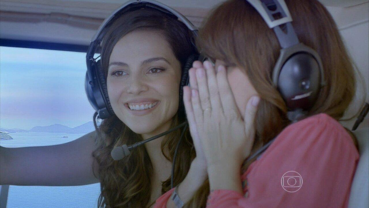Em Família - Capítulo de terça-feira, dia 25/02/2014, na íntegra - Marina vai para Angra dos Reis com Clara