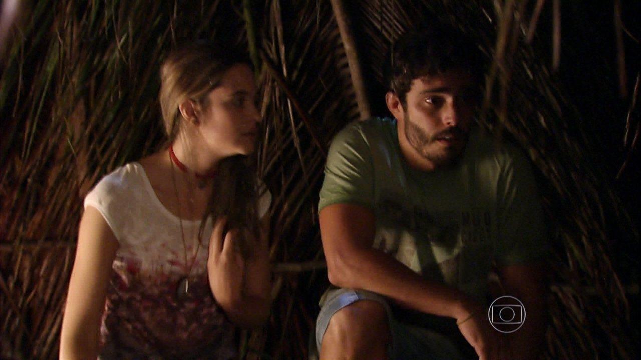 Além do Horizonte - capítulo de segunda-feira, dia 10/03/2014, na íntegra - Lili e William decidem invadir a Comunidade