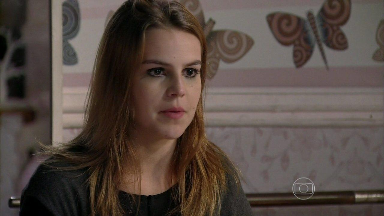 Malhação - Capítulo de segunda-feira, dia 31/03/2014, na íntegra - Anita afirma que seguirá seu plano para descobrir as maldades de Antônio