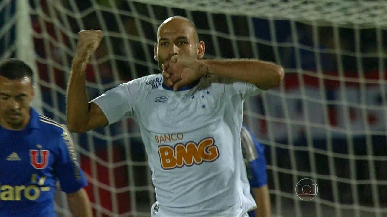 Cruzeiro vence Universidad de Chile e busca vaga nas oitavas de final da Libertadores