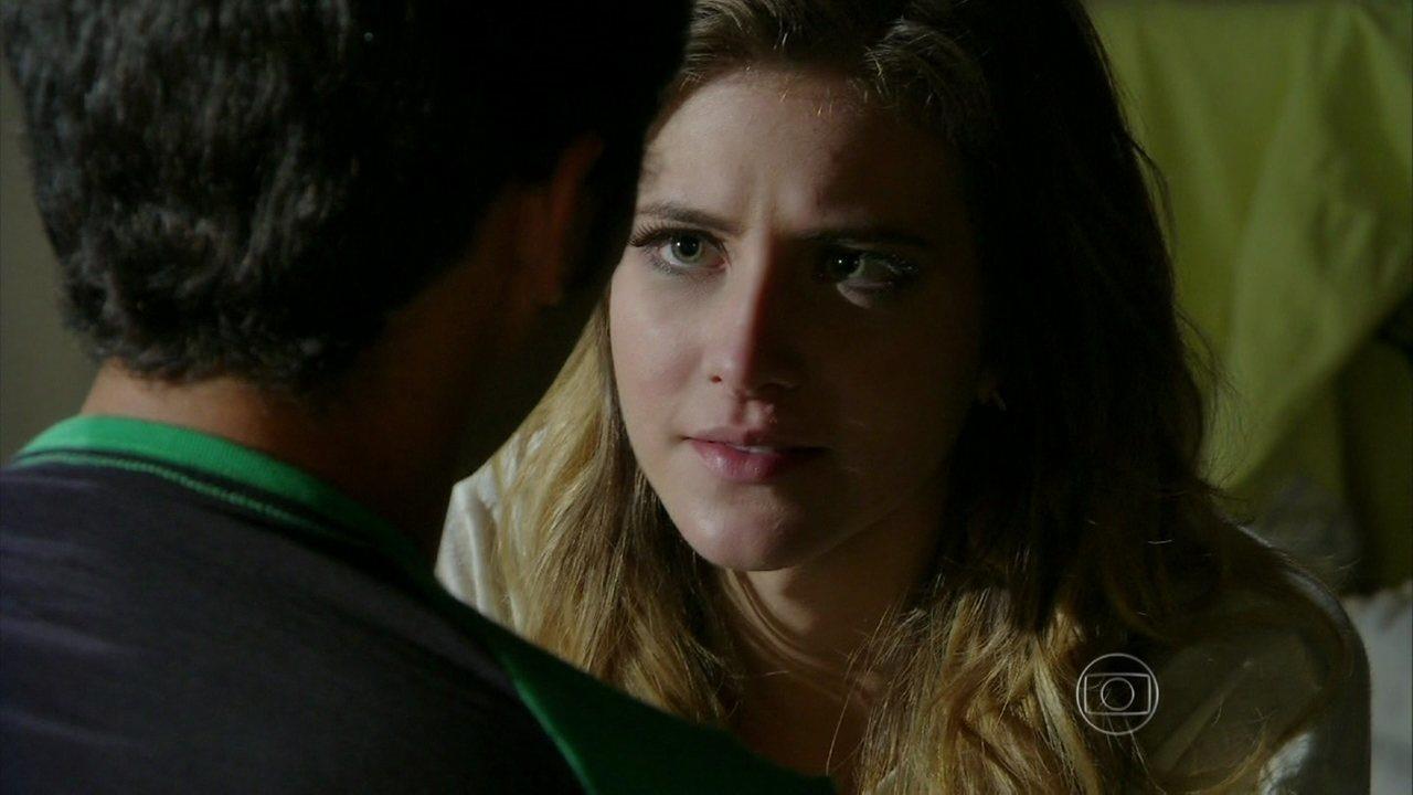 Malhação - Capítulo de quarta-feira, dia 16/04/2014, na íntegra - Sofia afirma que revelará para a família que ama Ben