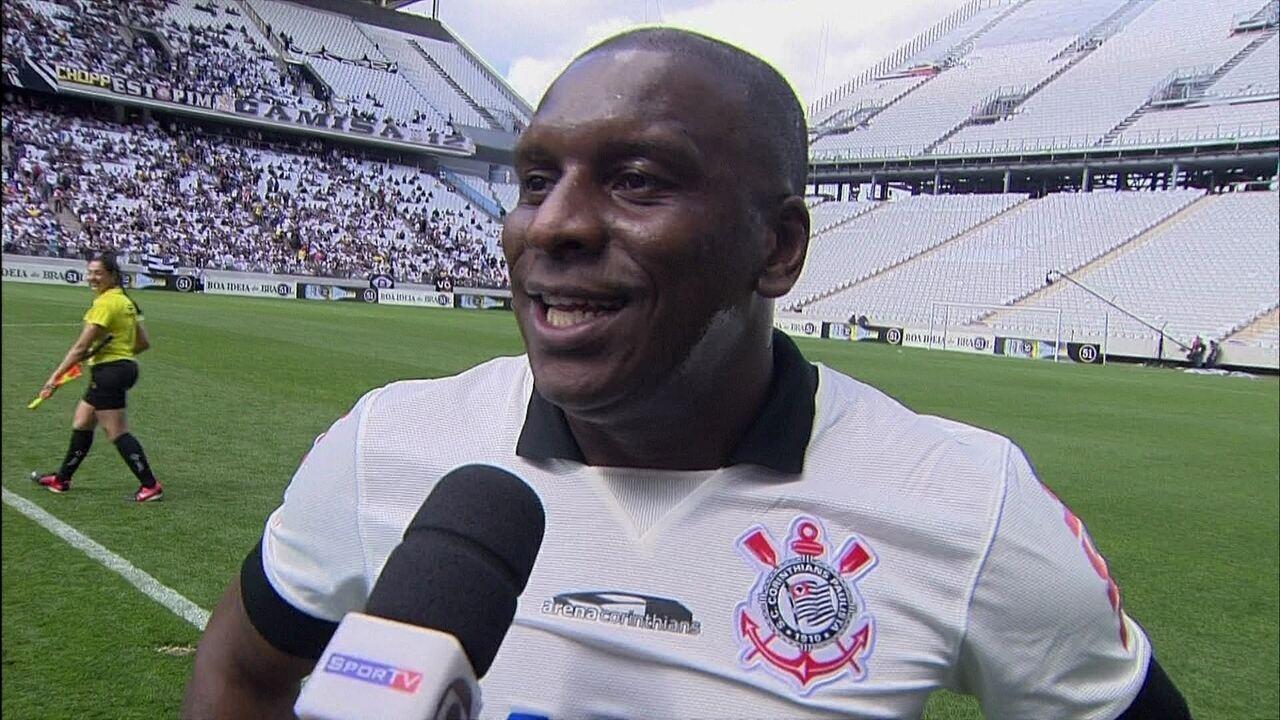 """Gilmar Fubá, sobre inauguração da Arena Corinthians: """"É um sonho"""""""