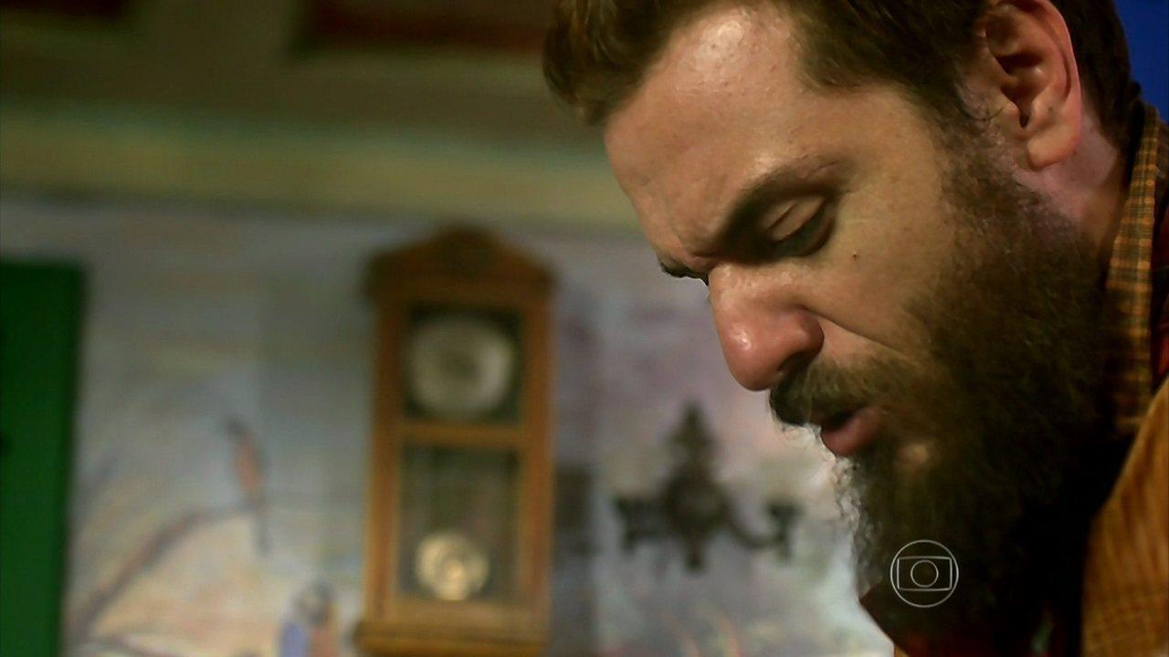 Meu Pedacinho de Chão - capítulo de terça-feira, dia 20/05/2014, na íntegra - Pedro convida Ferdinando para voltar a morar em sua casa