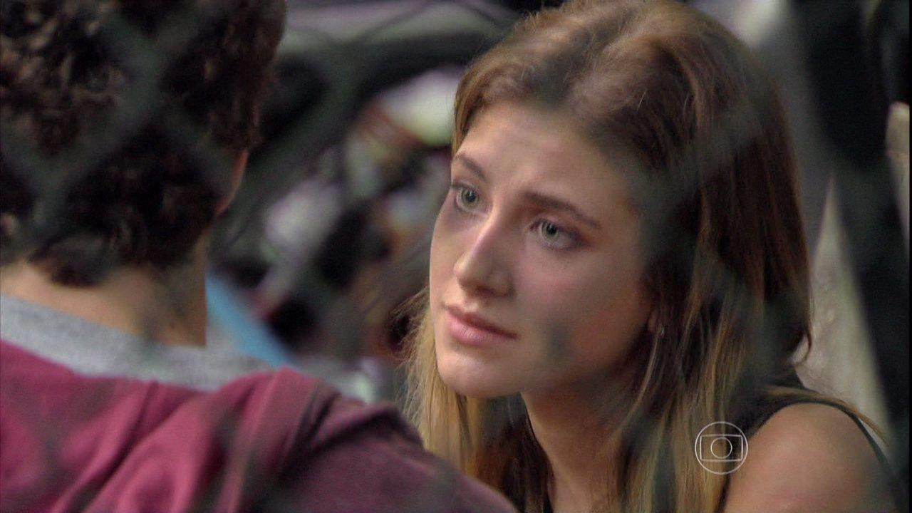 Malhação - Capítulo de terça-feira, dia 03/06/2014, na íntegra - Sofia revela a Sidney que nunca esteve grávida