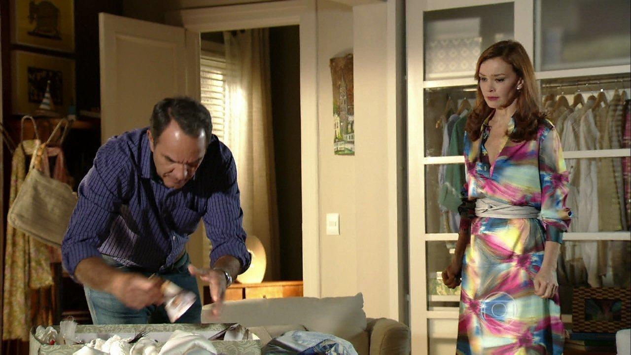 Em Família - Capítulo de terça-feira, dia 03/06/2014, na íntegra - Virgílio coloca um ponto final no casamento com Helena