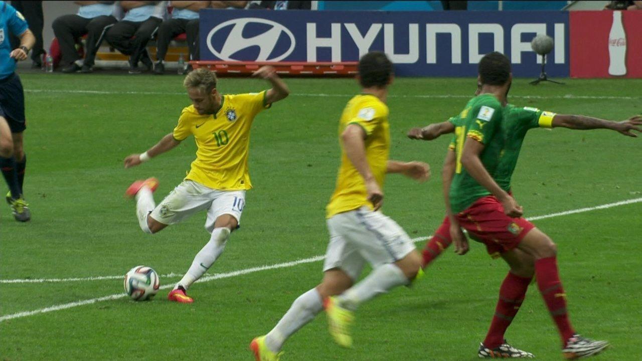 Melhores momentos: Brasil 4 x 1 Camarões pela 3ª rodada do Grupo A da Copa do Mundo 2014