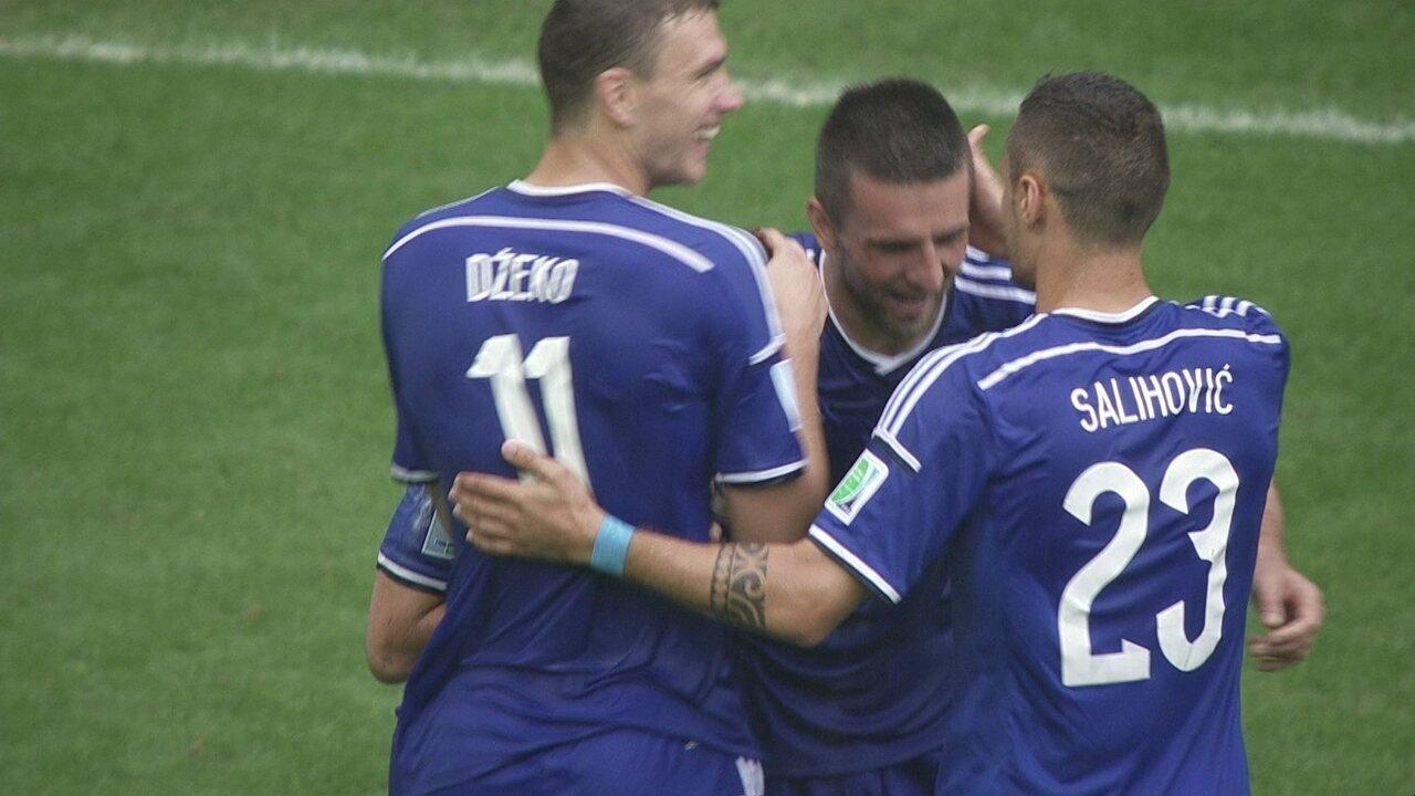 Os gols de Bósnia 3 x 1 Irã pela 3ª rodada do Grupo F da Copa do Mundo 2014