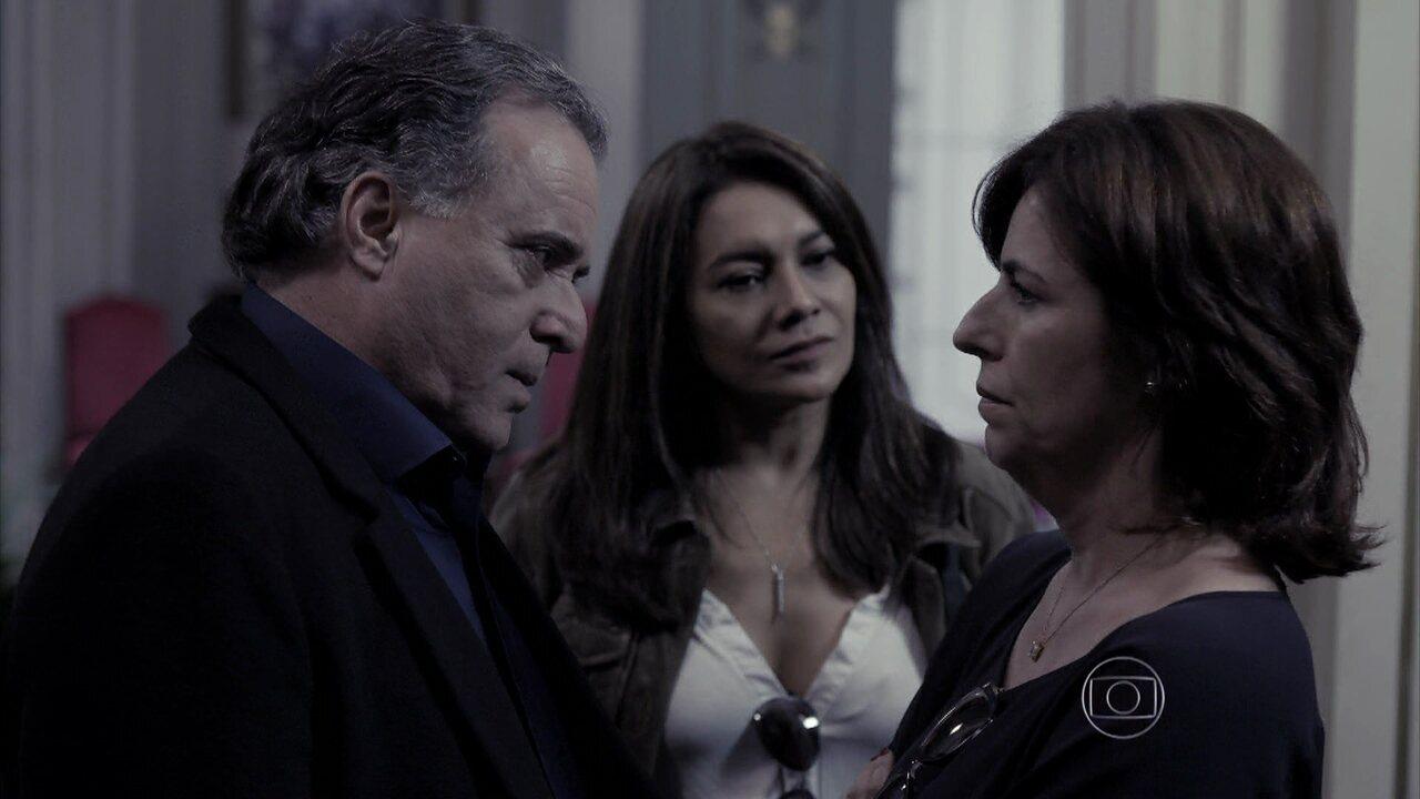 Capítulo de 25/07/2014 - Lídia afirma que Angela pode ser a mandante do crime