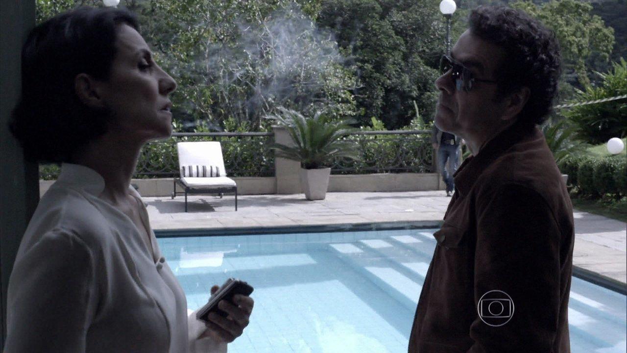 Capítulo de 01/08/2014 - Gilda afirma para Pedroso que Bruno morreu por sua causa