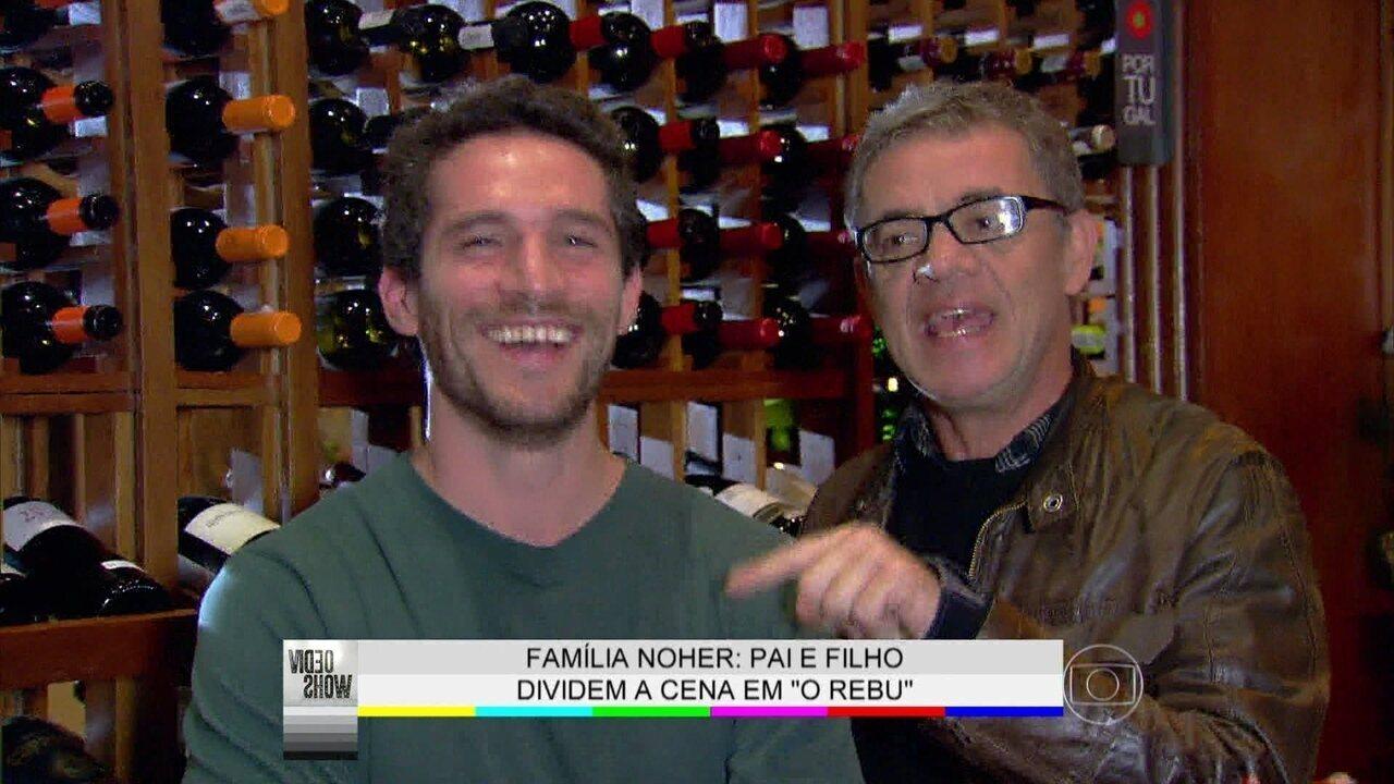 'Melhor presente de Dia dos Pais é poder trabalhar junto', diz Jean Pierre Noher