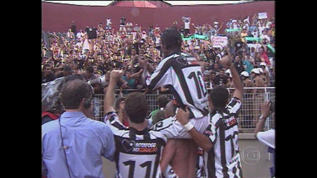 Baú do Esporte: relembre o drama do Botafogo ameaçado cair para segunda divisão em 2004