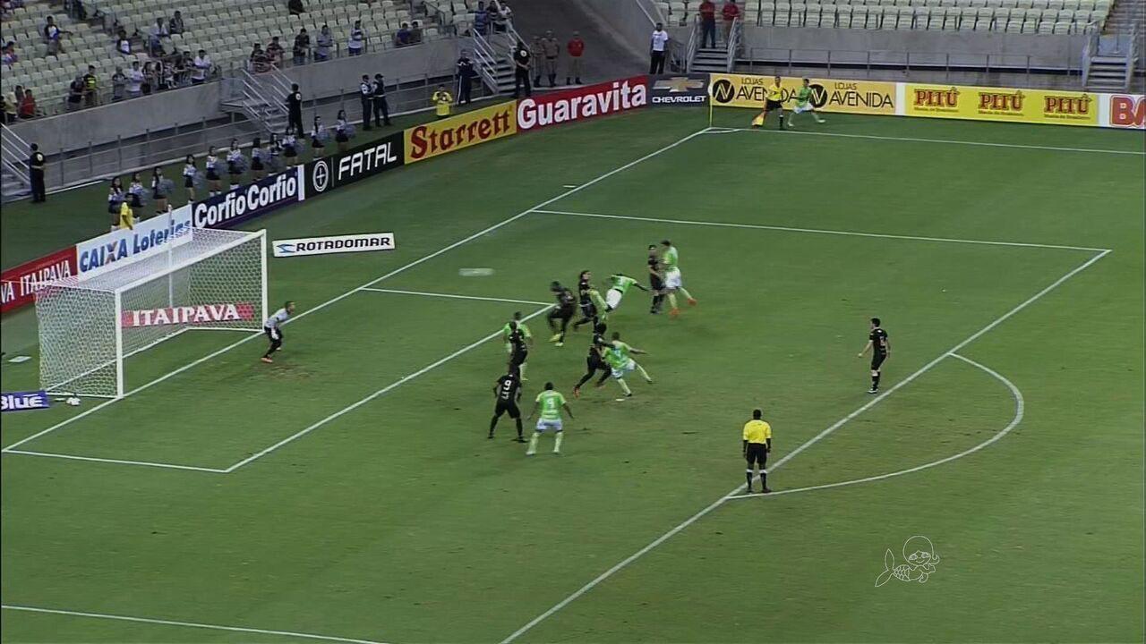 Ceará venceu América-MG por 5 a 2 na Série B de 2014