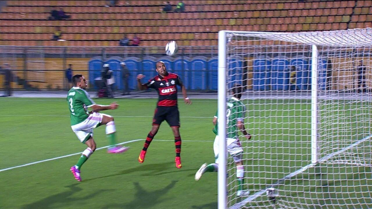 Palmeiras 2 x 2 Flamengo pela 22ª rodada do Brasileirão 2014