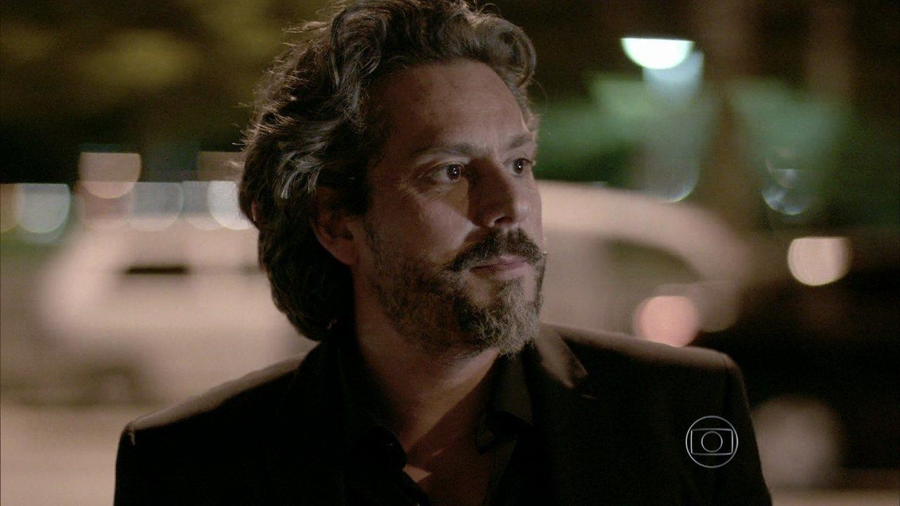 Império - Capítulo de quarta-feira, dia 15/10/2014, na íntegra - José Alfredo manda Josué investigar Maurílio