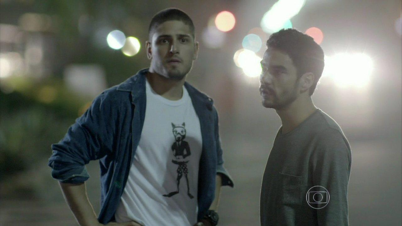 Império - Capítulo de terça-feira, dia 21/10/2014, na íntegra - Zé Pedro e João Lucas tentam encontrar Enrico