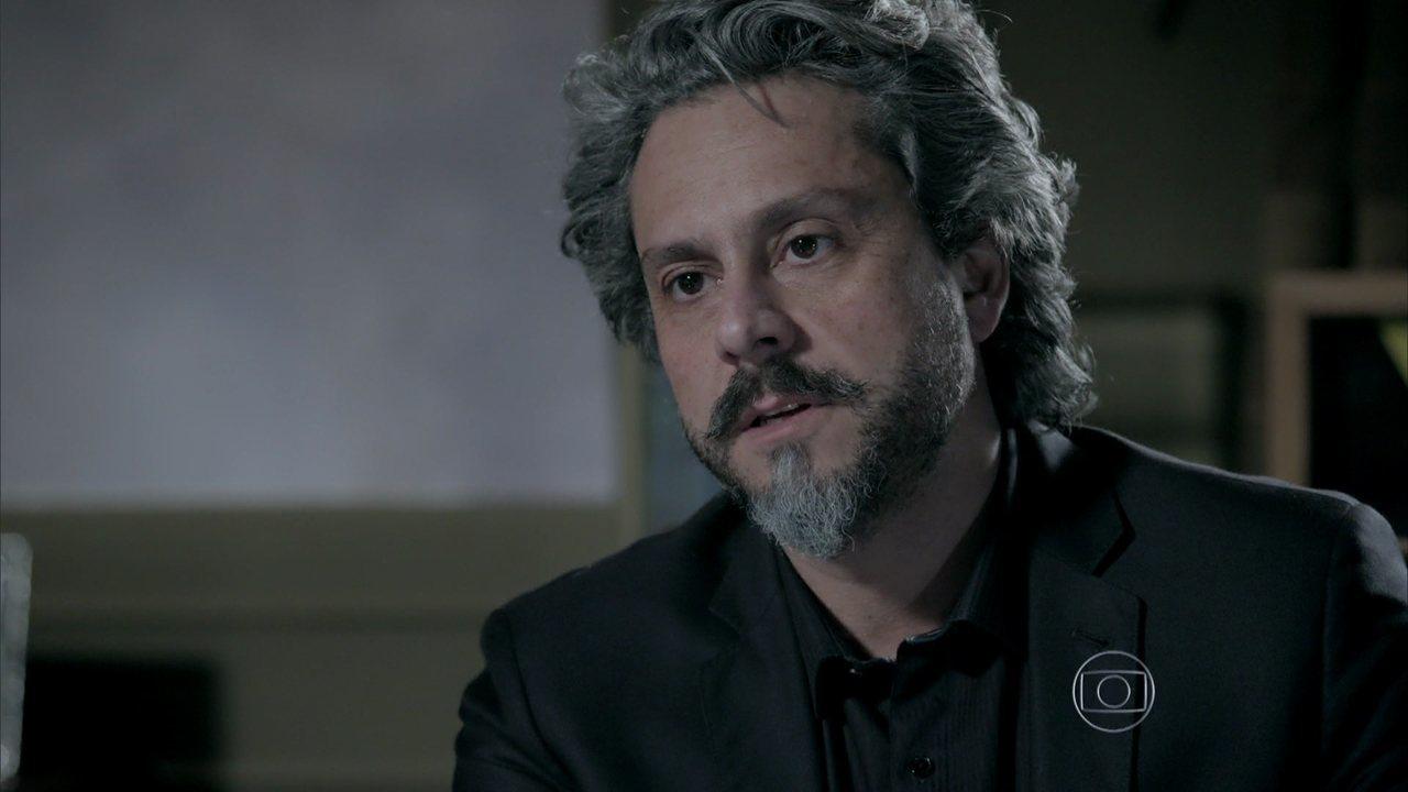 Império - capítulo de terça-feira, dia 02/12/2014, na íntegra - José Alfredo avisa a Cristina que sabe o resultado do exame de DNA