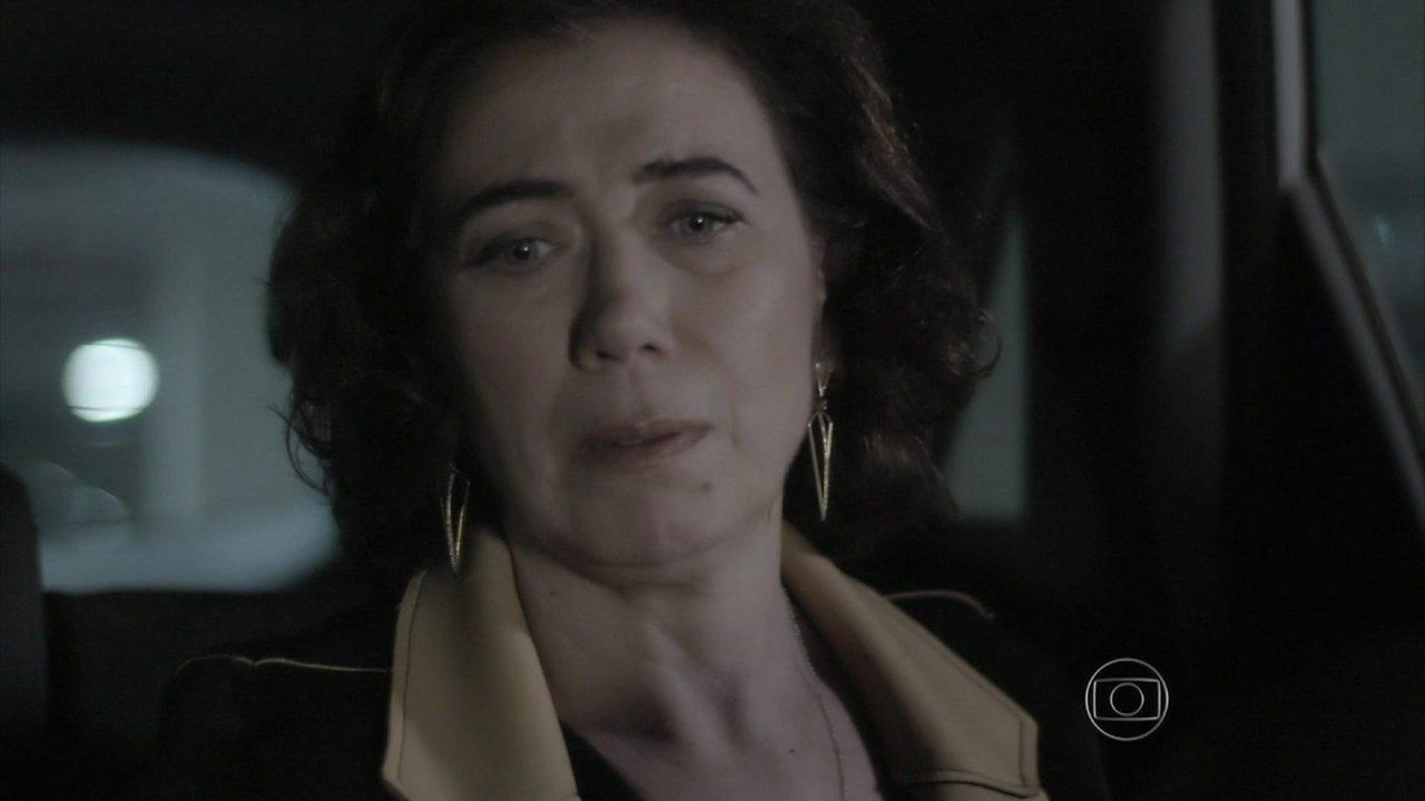 Império - Capítulo de terça-feira, dia 06/01/2015, na íntegra - Maria Marta confirma que Zé está enterrado