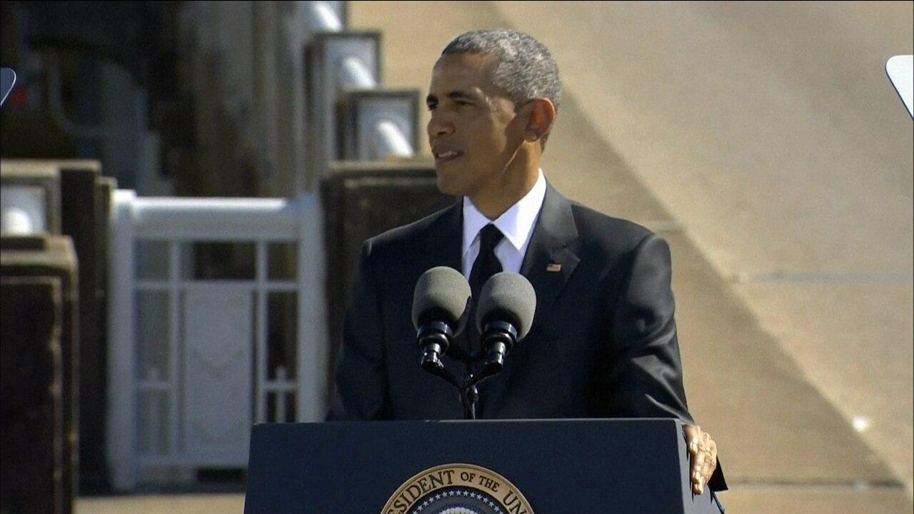 Barack Obama afirma que luta contra racismo ainda não terminou