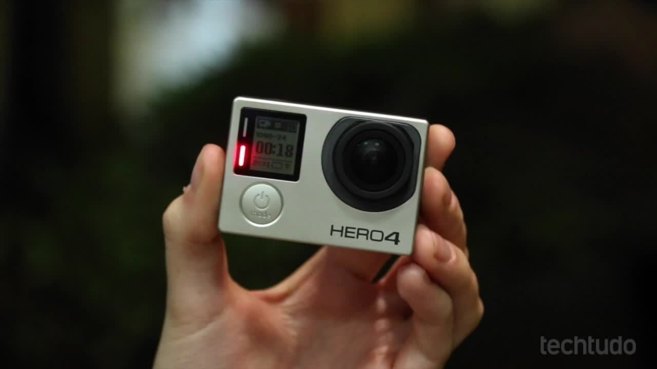Testamos a GoPro Hero4 Black; veja o vídeo review