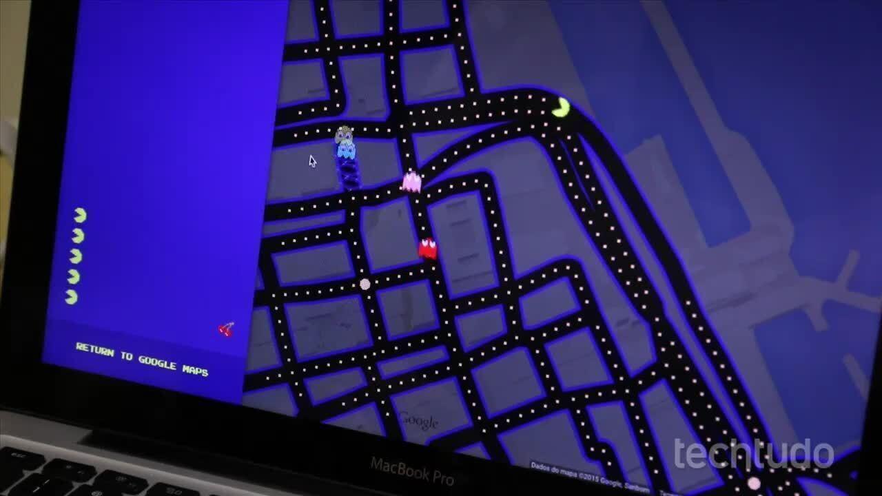 Como jogar Pac-Man no Google Maps