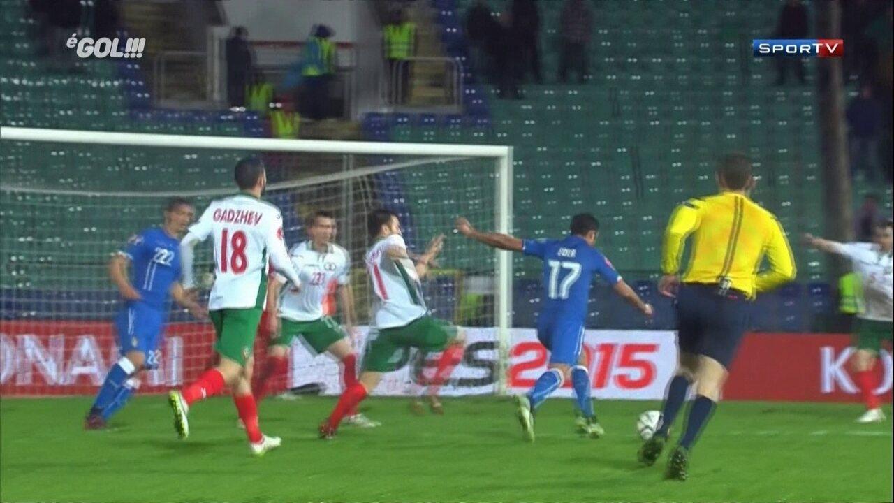 Veja golaço de Éder pela seleção italiana em 2015