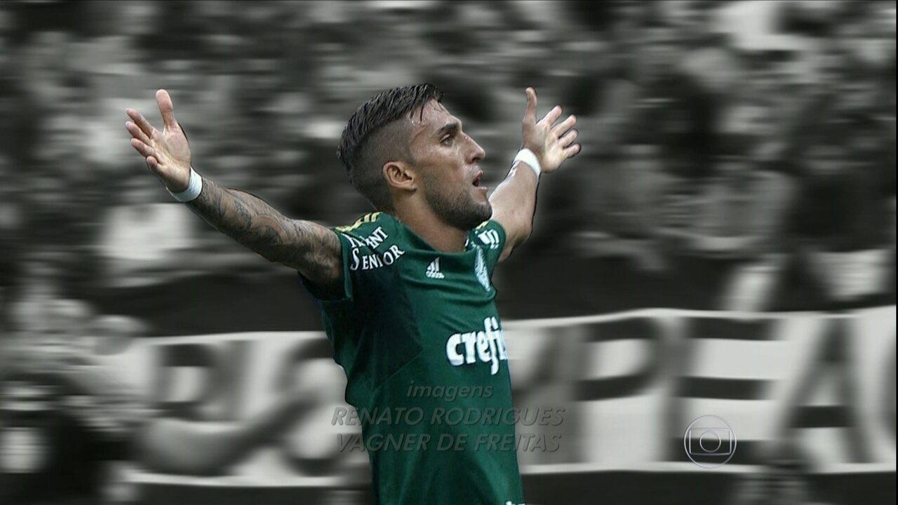 Palmeiras volta a fazer gol, vence o Corinthians e espanta a crise