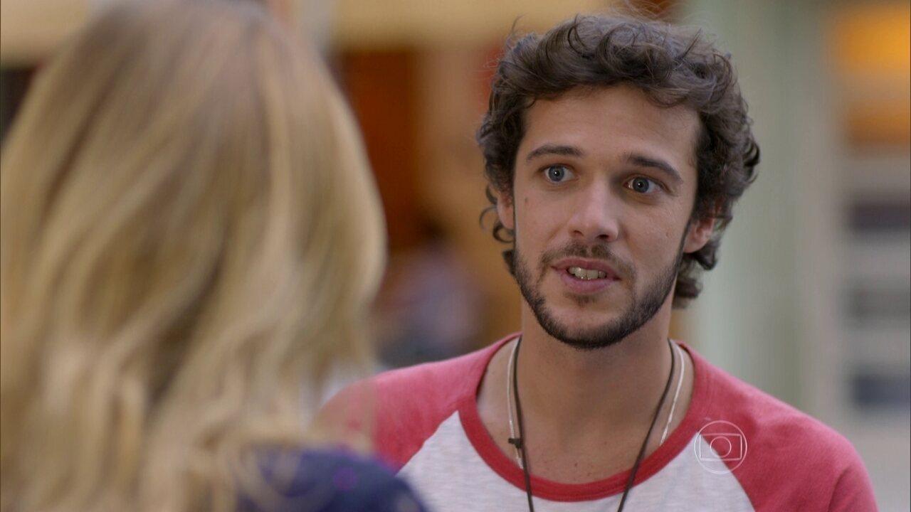 Sete Vidas - Capítulo de terça-feira, dia 23/06/2015, na íntegra - Pedro se declara para Júlia