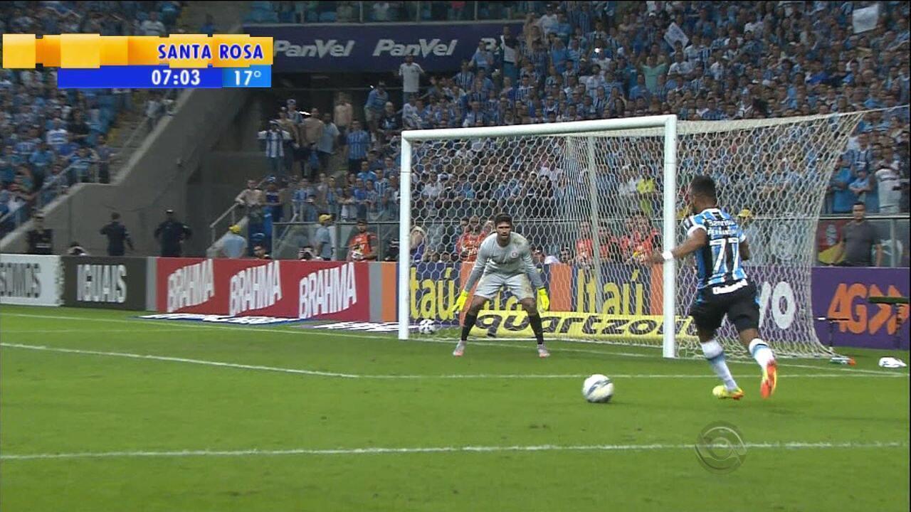 Esporte: Grêmio faz goleada de 5 x 0 em Inter; veja os gols