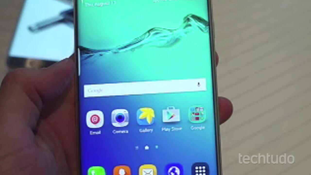 Testamos os celulares Galaxy S6 Edge Plus e Galaxy Note 5