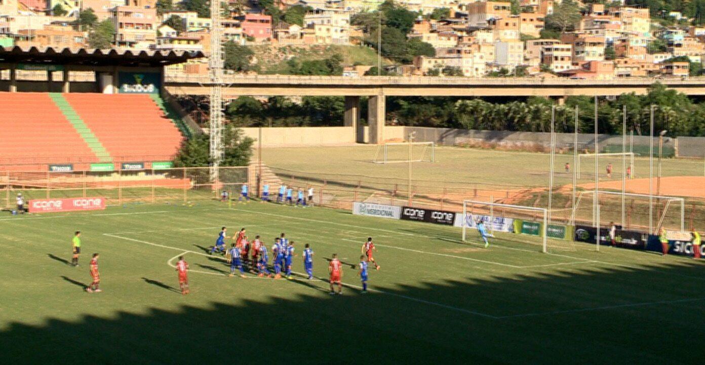 O gol de Desportiva Ferroviária 1 x 0 Vitória-ES, pela Copa Espírito Santo 2015