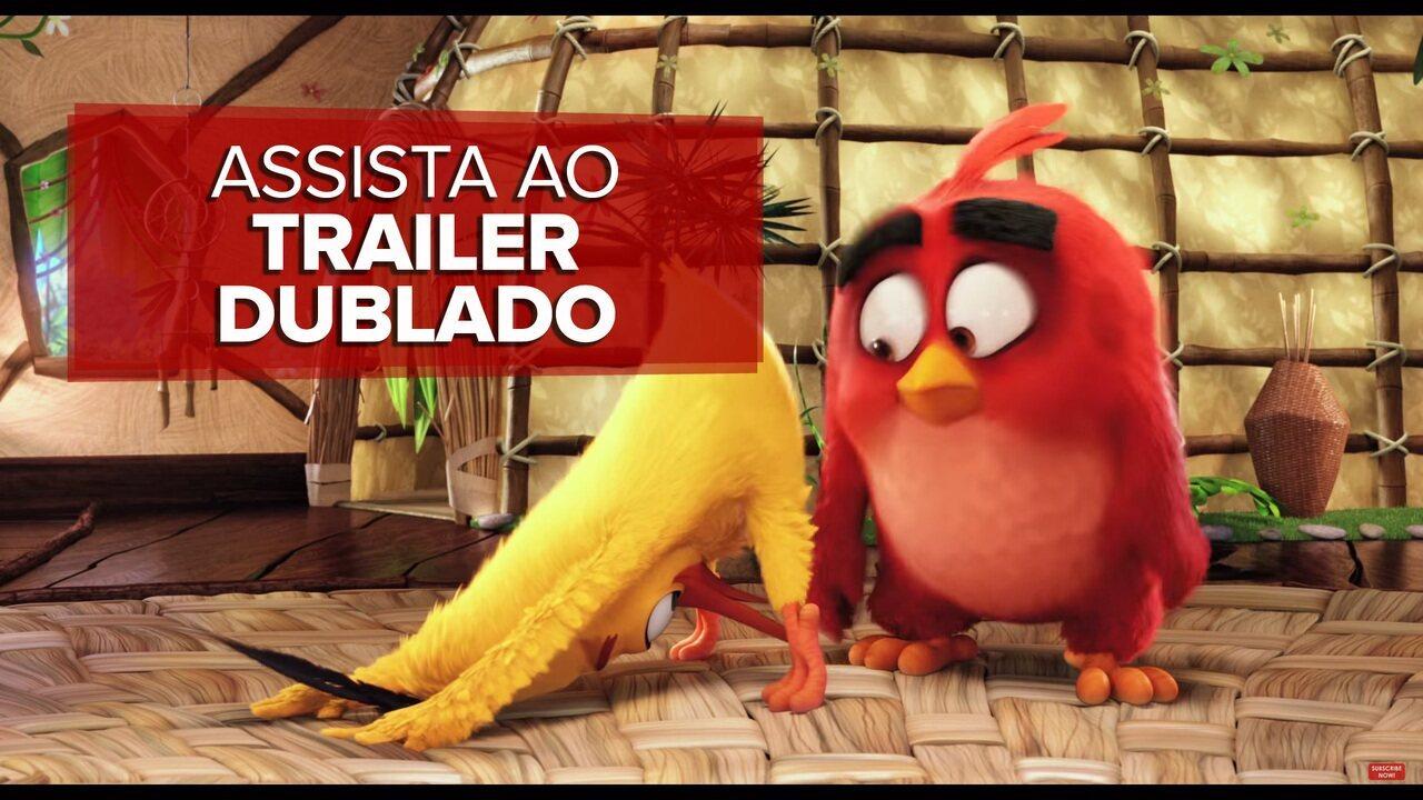 'Angry birds': filme do game ganha primeiro trailer; assista o vídeo dublado