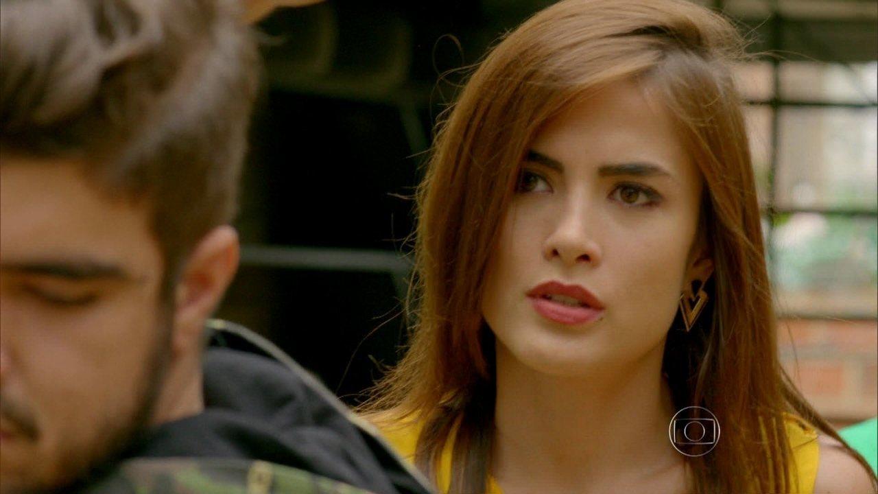 I Love Paraisópolis - capítulo de quinta-feira, dia 01/10/15, na íntegra - Margot reprova o comportamento de Grego