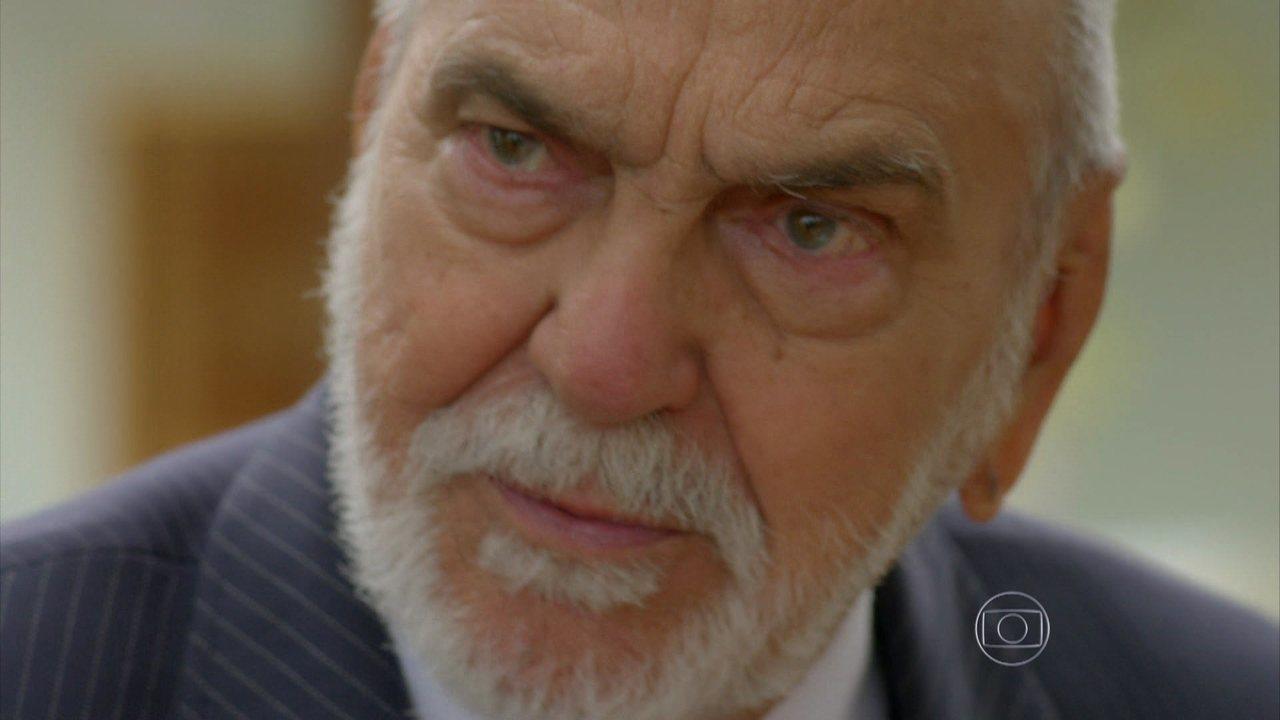 I Love Paraisópolis - capítulo de quinta-feira, dia 15/10/15, na íntegra - Dom Peppino propõe um acordo de paz a seus inimigos