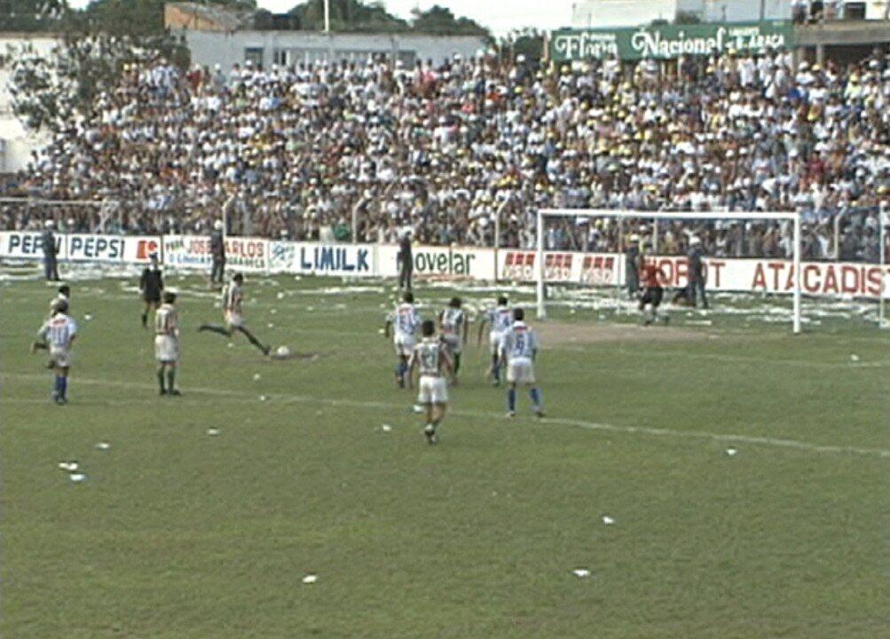 Melhores momentos de Linhares 1 x 1 Rio Branco-VN pelo Campeonato Capixaba 1995