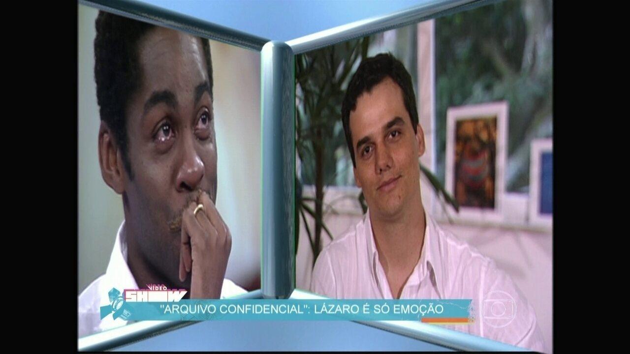 Relembre o arquivo confidencial com Lázaro Ramos