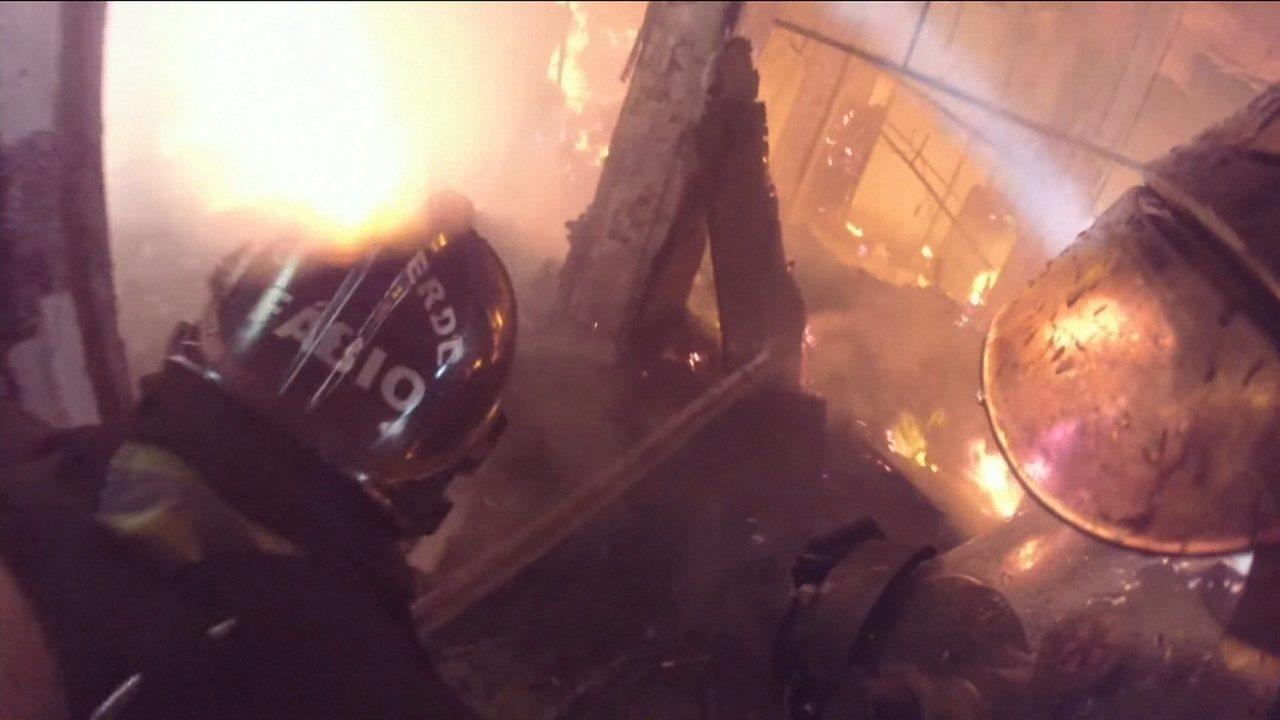 Incêndio em museu completa uma semana e Estação da Luz continua interditada