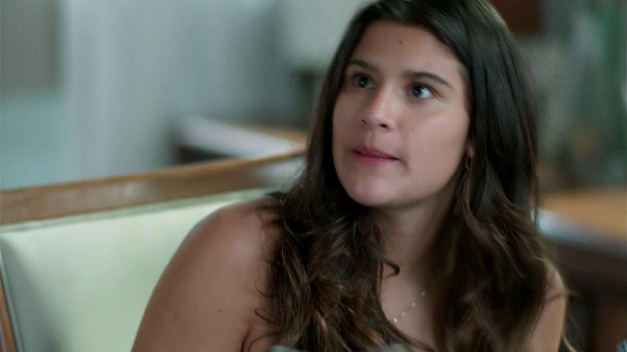 Lívia acusa Miguel de preconceito