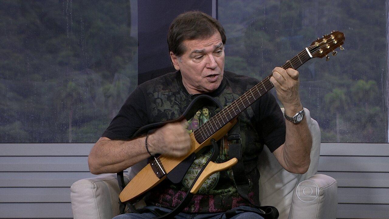Jerry Adriani faz show vespertino em Copacabana